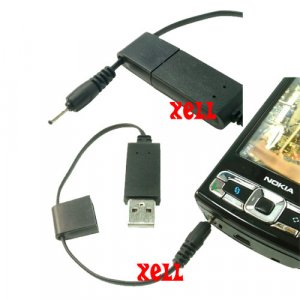 CA-100 USB Charger for Nokia N96 N95 8GB N82 N81 5310  **Free Shipping**
