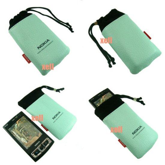 G2 Nokia Bag Pouch Case for N95 8GB N82 N81 N73 5310 5610, Green  **Free Shipping**