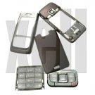 Premium Housing Cover Fascia for Nokia E65, Brown  **Free Shipping**