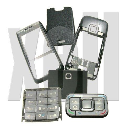 Premium Housing Cover Fascia for Nokia E65, Black  **Free Shipping**
