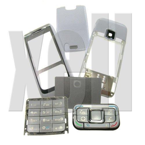 Premium Housing Cover Fascia for Nokia E65, White  **Free Shipping**
