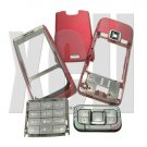 Premium Housing Cover Fascia for Nokia E65, Red  **Free Shipping**