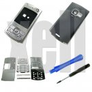 Premium Housing Cover Fascia for Nokia N80, Silver **Free Shipping**