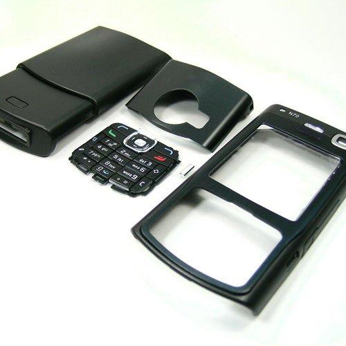 Housing Cover Fascia for Nokia N70, Black  **Free Shipping**