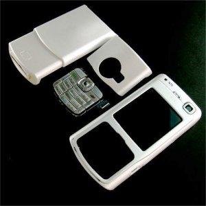 Housing Cover Fascia for Nokia N70, White  **Free Shipping**