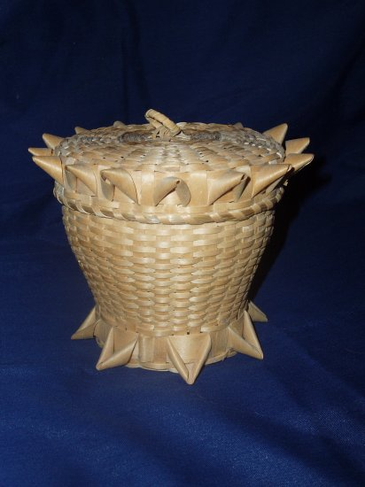 Native American Sweetgrass/Splint Basket
