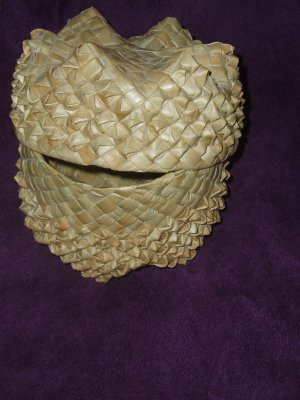 Native American Sweetgrass/Splint Basket