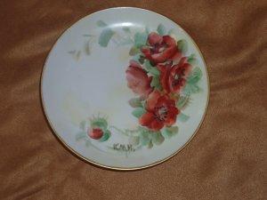 4 Small Plates from Czechoslovakia