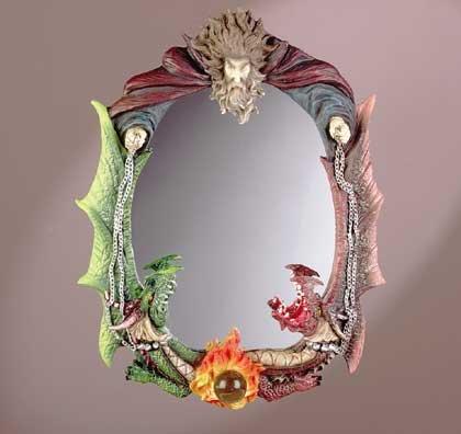Wizard & Dragons Mirror
