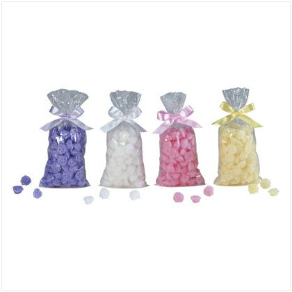 ROSE SHAPES WAX POTPOURRI CHIPS
