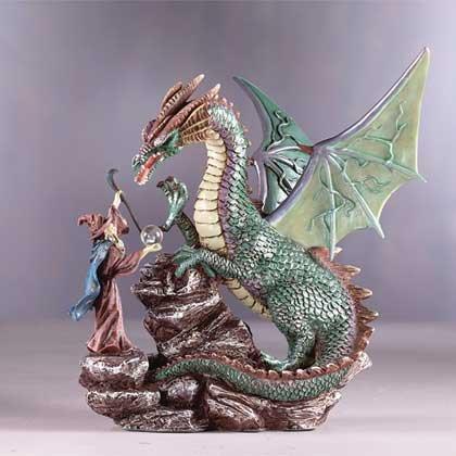 Dragon & Merlin