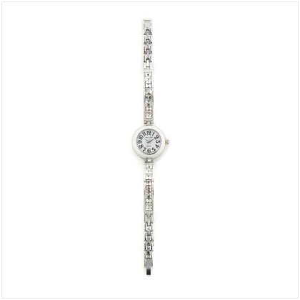 Crystal Link Lady's Watch
