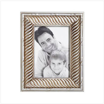 Silver-Toned Photo Frame
