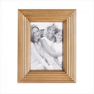 Gold-Toned Photo Frame