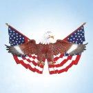 Eagle & Flag Wall Plaque