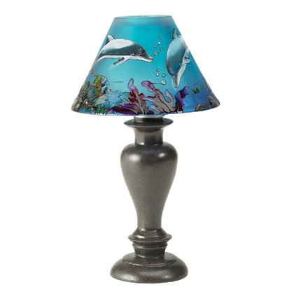 Dolphin Candle Lamp