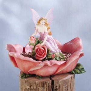 Fairy & Rose Bird Feeder