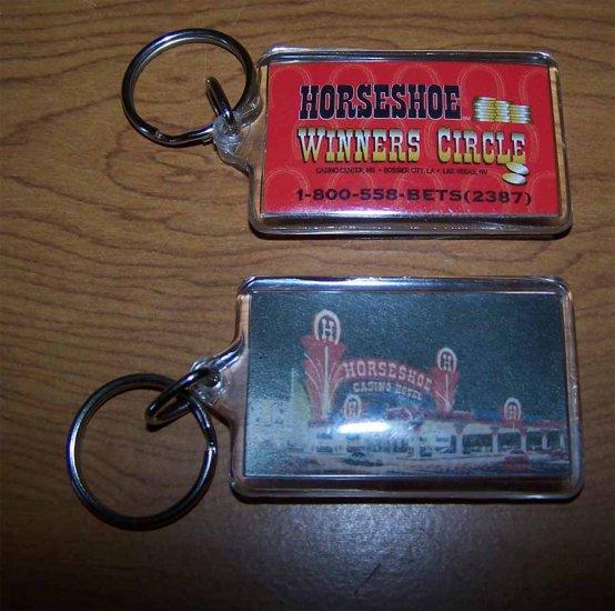 Horseshoe Casino and Hotel Winners Circle Keychain Tunica, MS