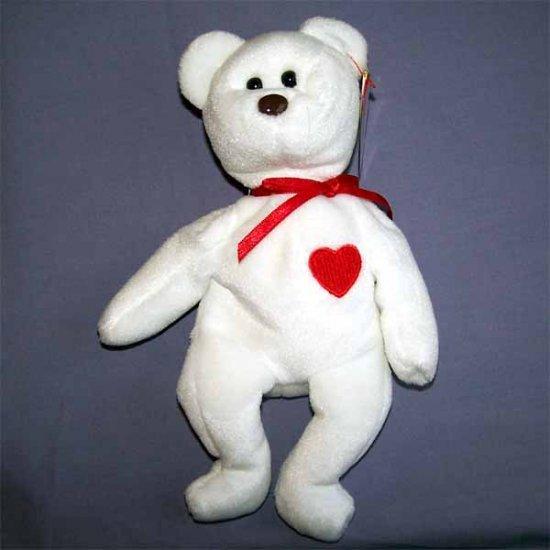 Valentino the Bear Ty Beanie Baby MWMT