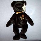The End Bear Ty Beanie Baby MWMT