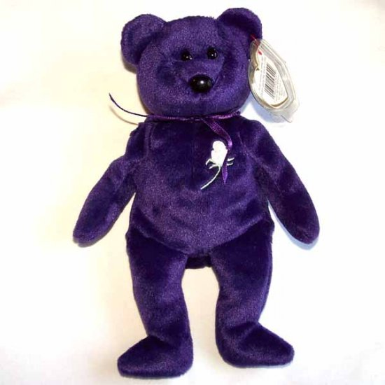 Princess the Bear Ty Beanie Baby MWMT