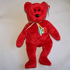 Osito the Mexican Bear Ty Beanie Baby MWMT