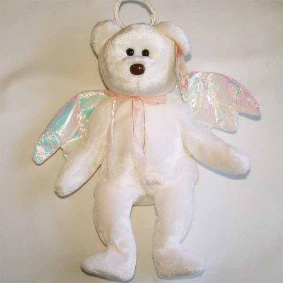Halo the Angel Bear Ty Beanie Baby MWMT