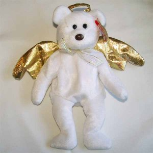 Halo II the Angel Bear Ty Beanie Baby MWMT