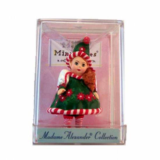 Santa's Little Helper 1998 Miniature Figurine Hallmark Madame Alexander Collection