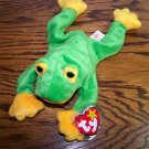 Smoochy the Frog Ty Beanie Baby MWMT