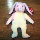 Hippie the Ty-Dye Bunny Ty Beanie Baby MWMT
