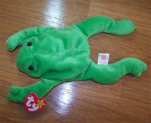 Legs the Frog Ty Beanie Baby MWMT