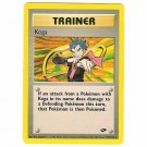 Pokemon Card Koga Gym Challenge Unlimited 106/132 Single Card Rare (PK14)