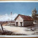 School Days Lithograph - Autographed by Artist Huey J. Theus