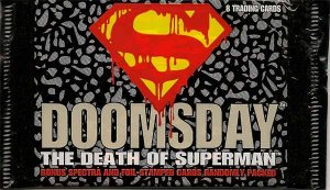 Doomsday The Death of Superman Collectible Trading Cards - Sealed Pack of 8 Cards
