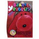 Rover the Dog Beanie Buddies Magenta Ty Beanie Baby Single Card Series 3 (BB16)