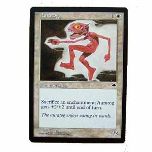 Auratog - Tempest - Magic the Gathering Role Playing Single Card (MGT26)