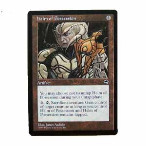Helm of Possession - Tempest - Magic the Gathering Role Playing Single Card (MTG41)