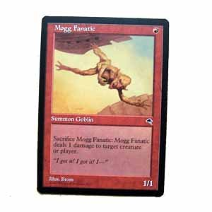 Mogg Fanatic - Tempest - Magic the Gathering Role Playing Single Card (MTG48)