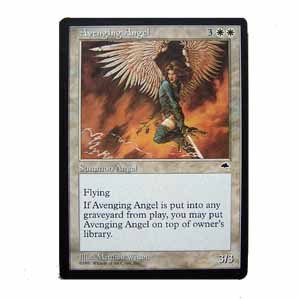 Avenging Angel - Tempest - Magic the Gathering Role Playing Single Card (MTG65)
