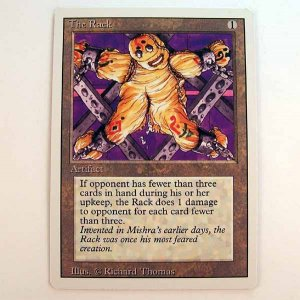 The Rack - Revised - Magic the Gathering Role Playing Single Card (MTG73)