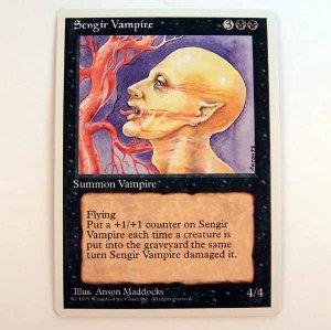 Sengir Vampire - 4th Edition - Magic the Gathering Role Playing Single Card (MTG79)