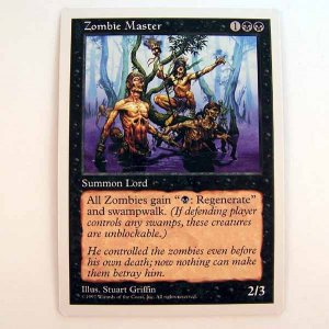 Zombie Master - 5th Edition - Magic the Gathering Role Playing Single Card (MTG83)