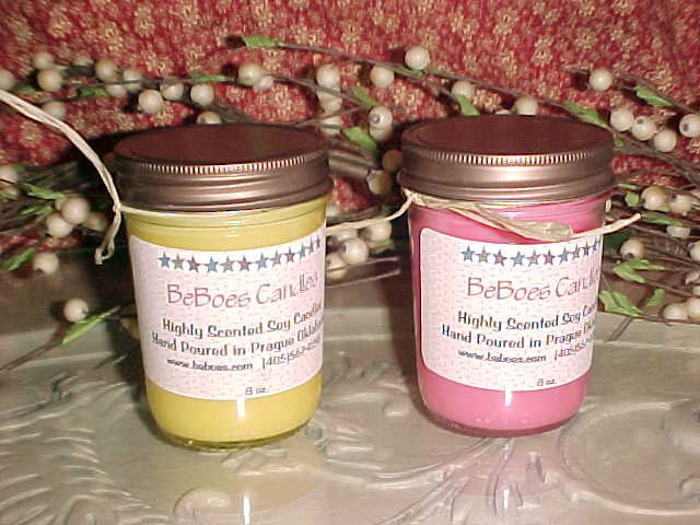 8 oz Rustic Soy Candle