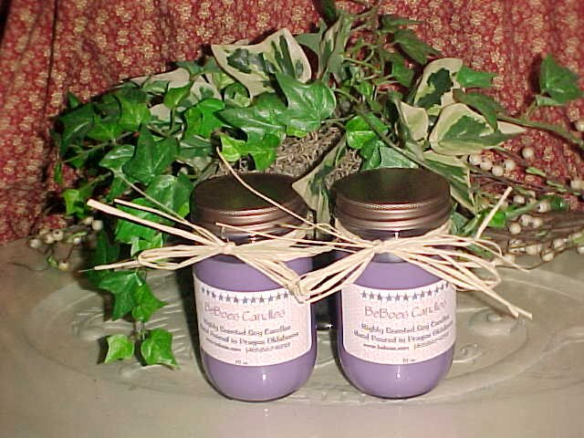 Wickless Soy Candles - 16 oz.
