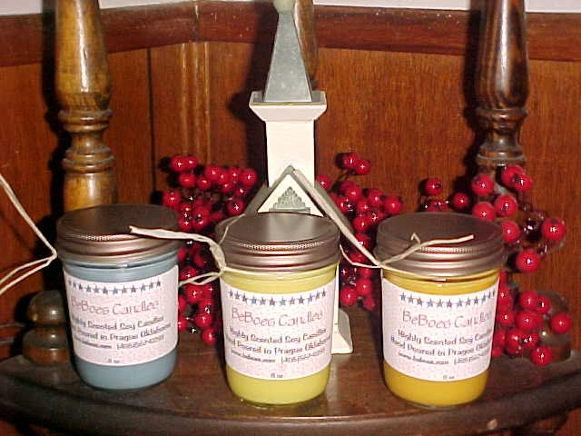Wickless Soy Candle - 8 oz