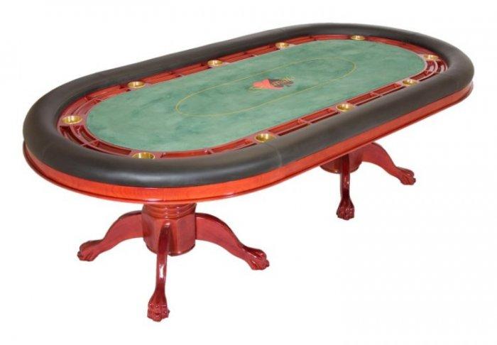 Bravatto Deluxe Edition Poker Table - Cherry Finish