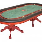 Bravatto Deluxe Edition Poker Table - Cherry Finish