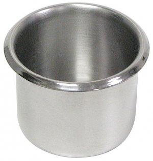 Set of 10 Cup Holders - Stainless Steel (small size)