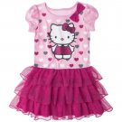 Hello Kitty™ Infant Toddler Girls' Tunic Dress - Pink Toddlers 3T